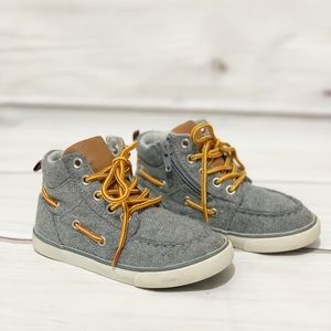 Gap Canvas Lace Up Boots
